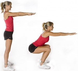 body-weight-squats-up-down-girl